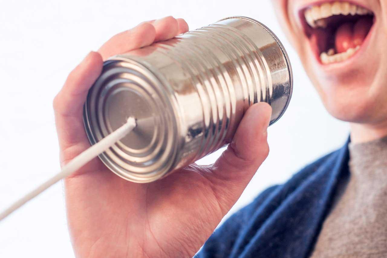 Error de comunicación ONG
