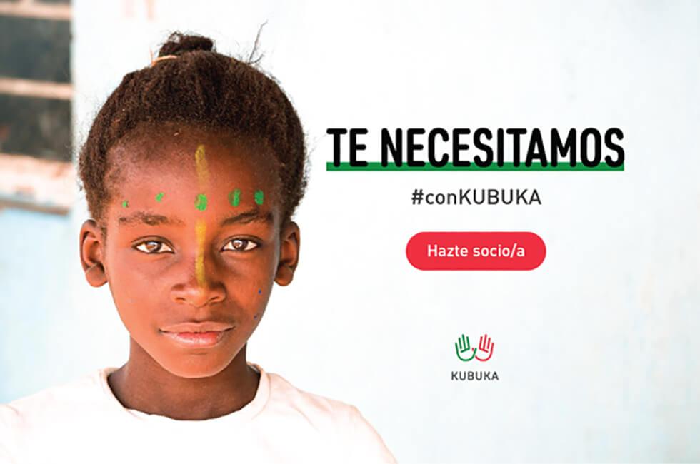 Imagen campaña para captar socios de KUBUKA