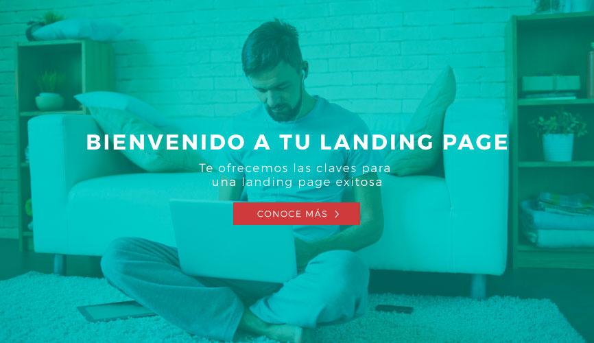 Landing page ONG