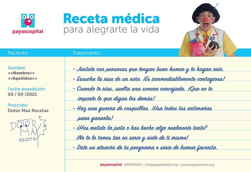 Receta médica Payasospital